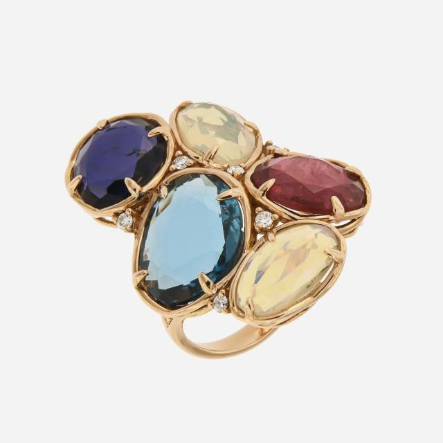 anello collezione rose