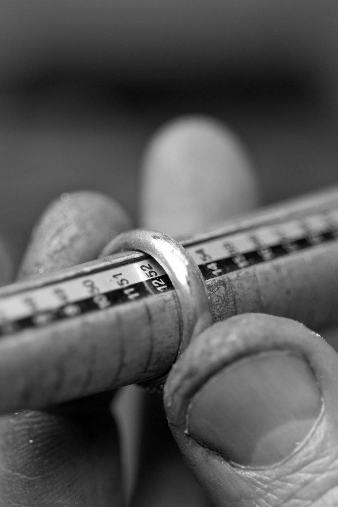 artigiano misura calibro anello