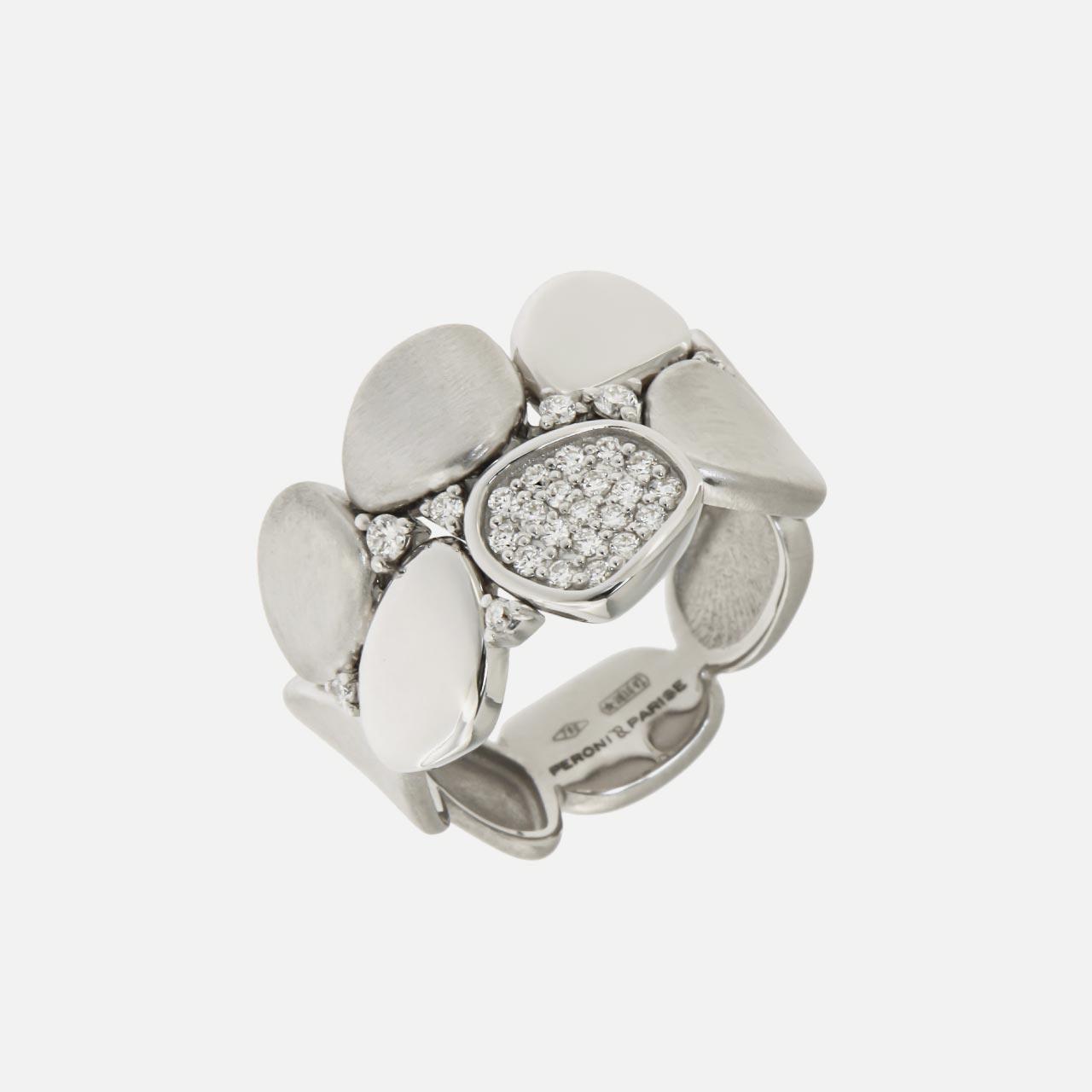 anello collezione pavé